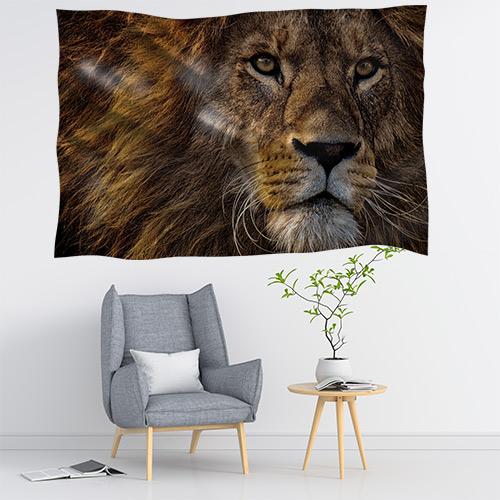 Duvar Örtüsü Aslan